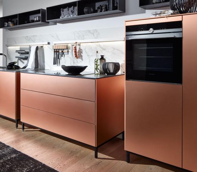 Кухонный гарнитур Beeck Küchen Metall copper