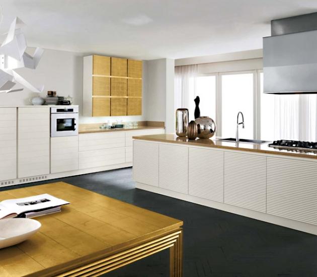 Кухонный гарнитур Bamax Century Laccato Bianco