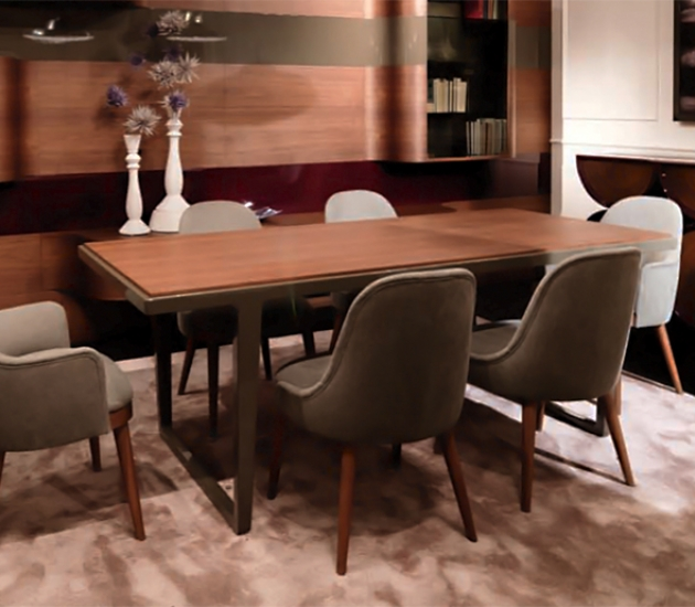 Обеденный стол Bamax Corteccia 82.085