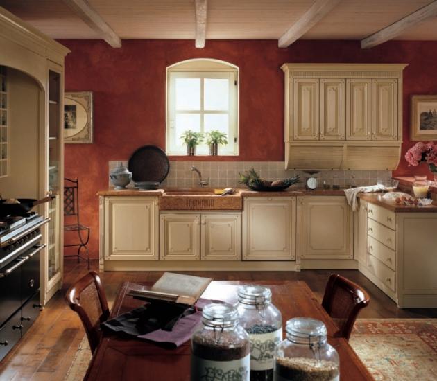 Кухонный гарнитур Fiocco di Seta Laccato Mandorla