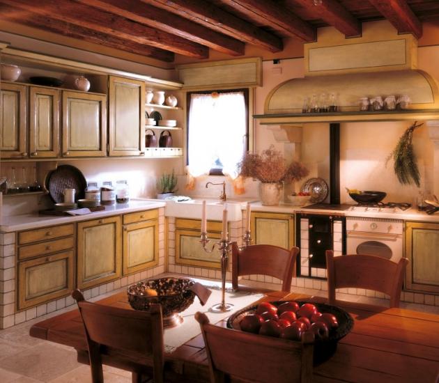 Кухонный гарнитур Bamax Fiori di Campo 03