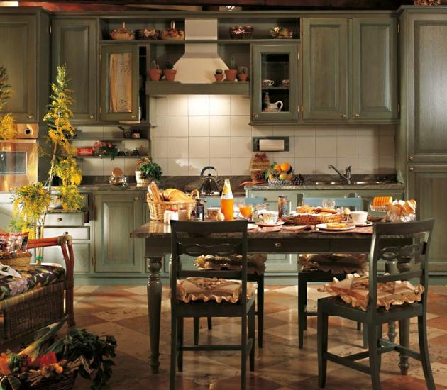 Кухонный гарнитур Bamax Fiori di Campo 07