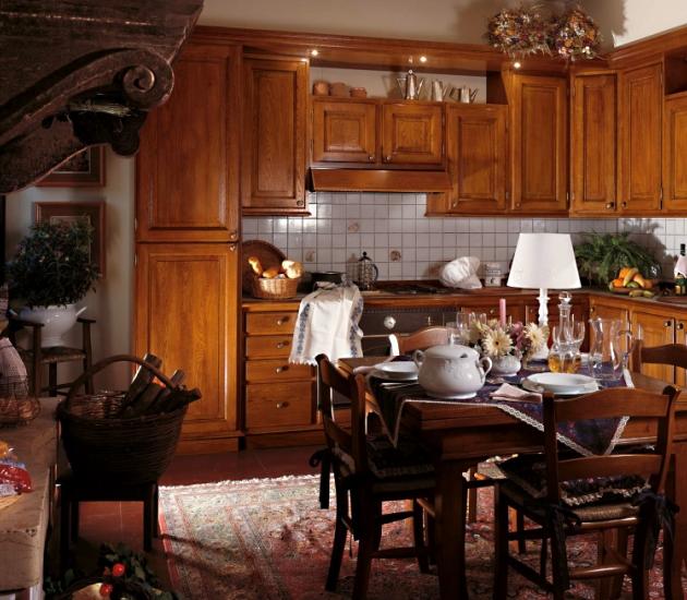 Кухонный гарнитур Bamax Fiori di Campo 08