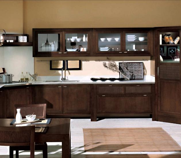Кухонный гарнитур Bamax Shogun Rovere Coffee