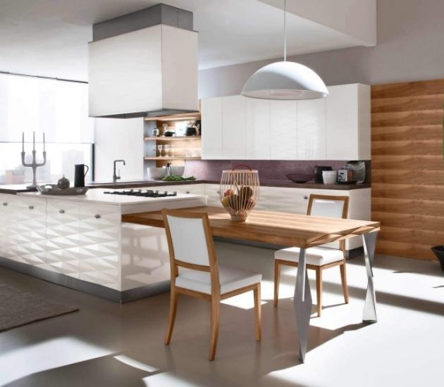 Кухонный гарнитур Bamax Diamante Laccato bianco