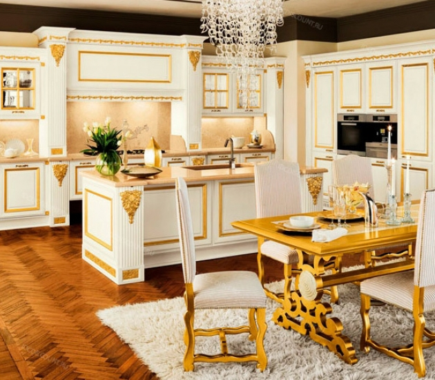Кухонный гарнитур Bamax Hermitage Gold
