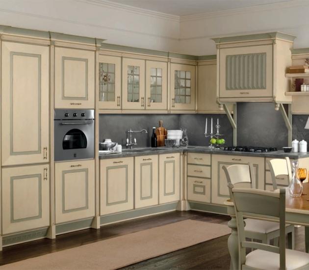 Кухонный гарнитур Bamax Sweden Rovere Avorio