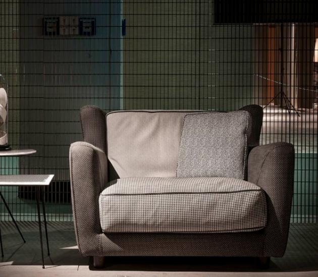 Кресло Baxter Bergere Longe