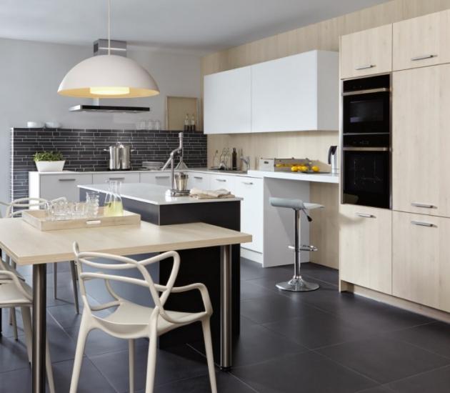 Кухонный гарнитур BEECK Küchen Kristall Matt Trend