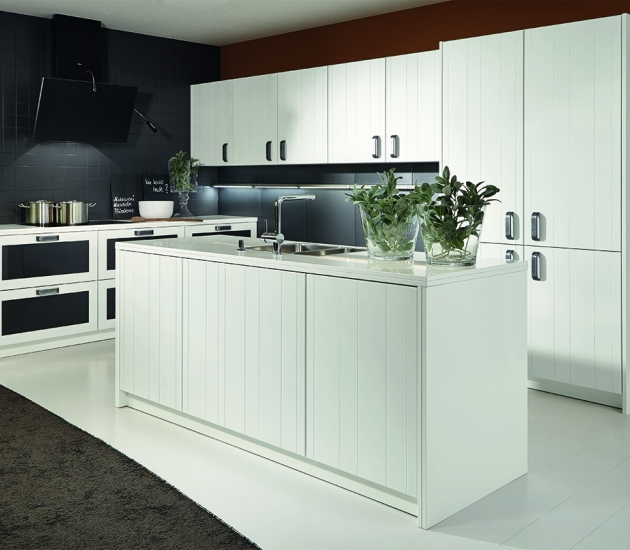 Кухонный гарнитур BEECK Küchen Butlerspantry Pc Ru cosmic white