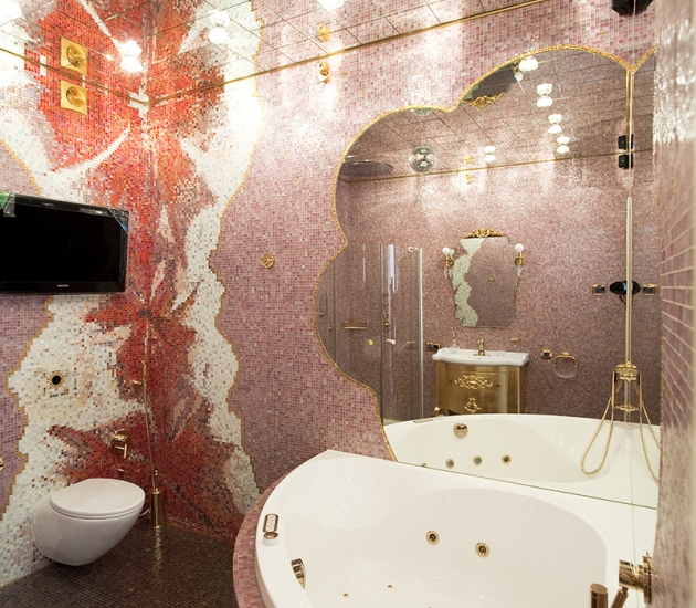 Итальянская мебель в шикарной московской квартире
