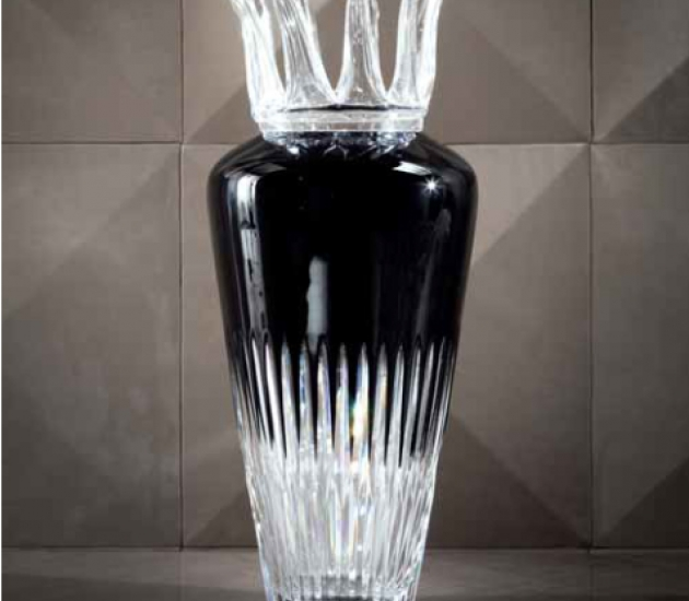 Ваза Giorgio Collection Alchemy Gemini crystal