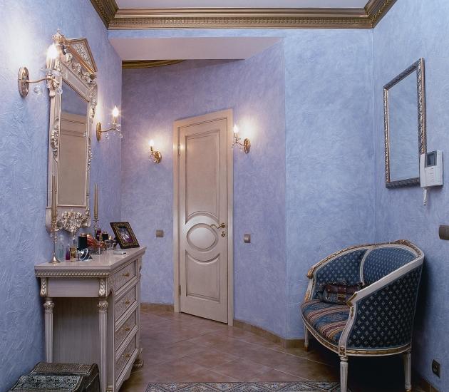 Итальянская мебель в квартире в Москве на Якиманке