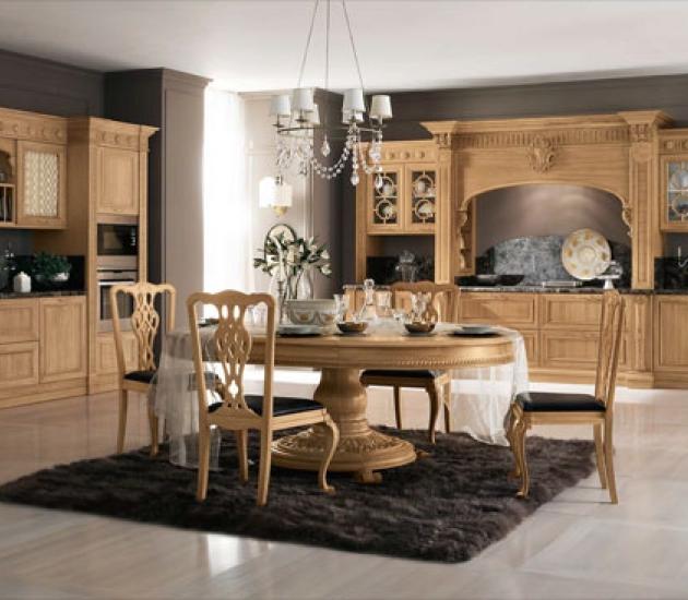Кухонный гарнитур Bamax Venezia Rovere miele