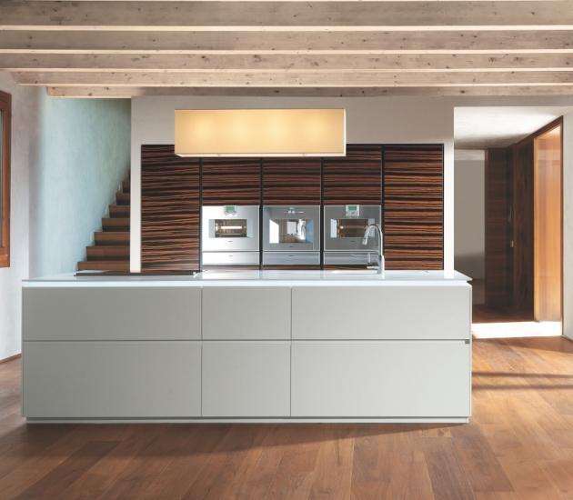 Кухонный гарнитур MK Cucine 012 Ebano Corian
