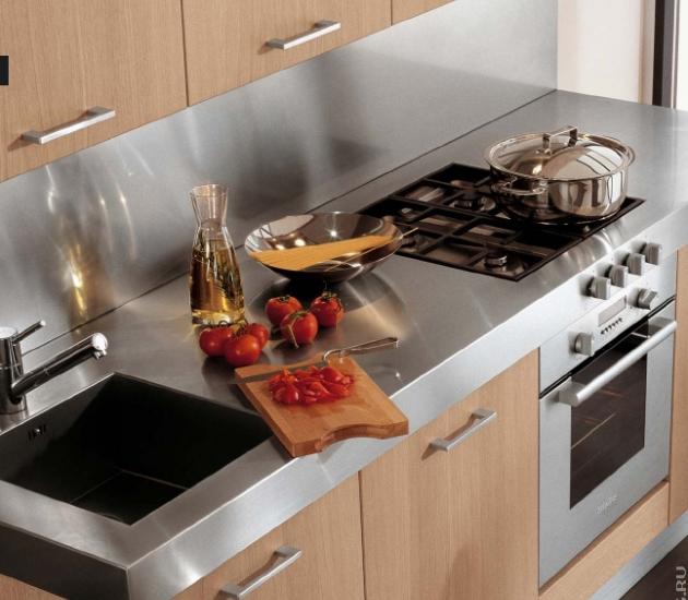 Кухонный гарнитур MK Cucine Size Rovere Decape'