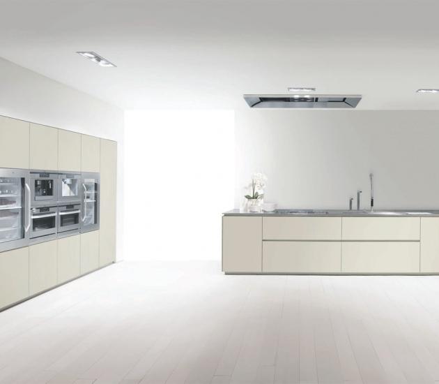 Кухонный гарнитур MK Cucine 012 Acciaio Laccato opaco