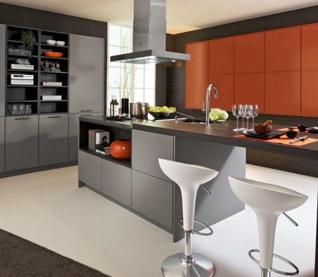 Кухонный гарнитур BEECK Küchen Colorline MC/Trend