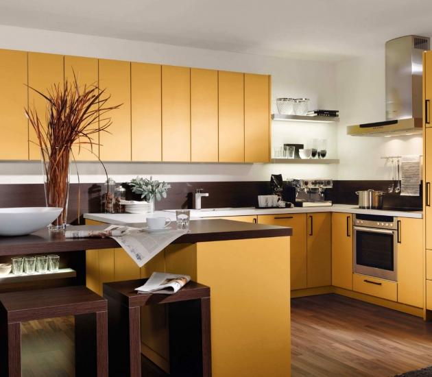 Кухонный гарнитур BEECK Küchen Colorline SM