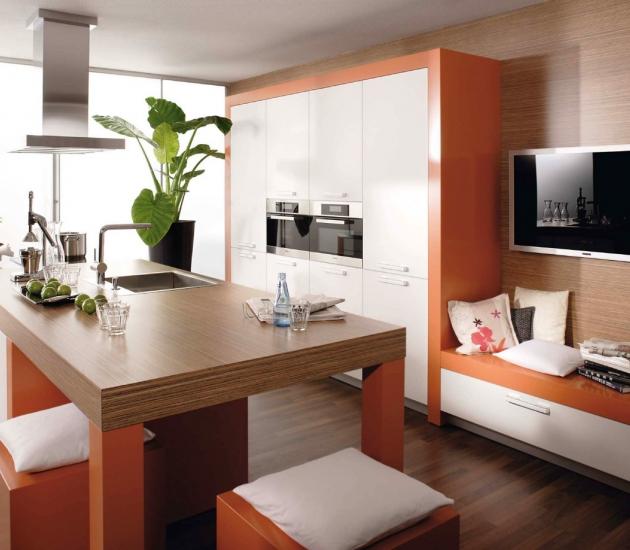 Кухонный гарнитур BEECK Küchen Trend scan weiß