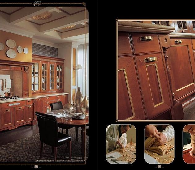 Кухонный гарнитур Aster Cucine Opera