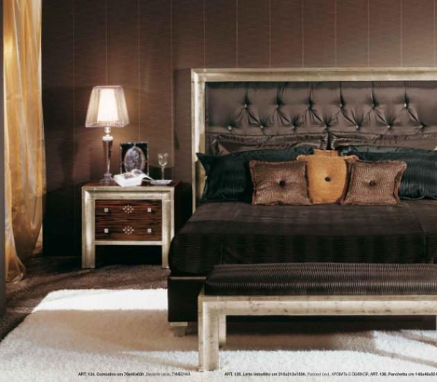 Кровать Redeco Grignani