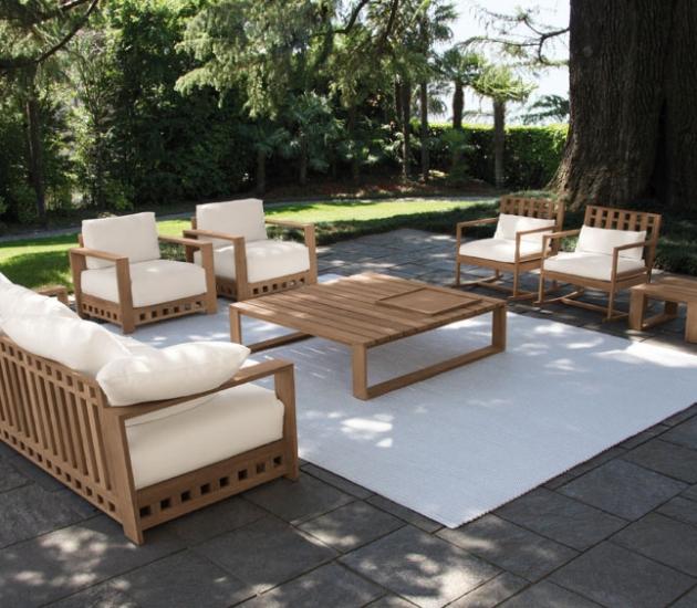 Комплект уличной мебели Meridiani Square