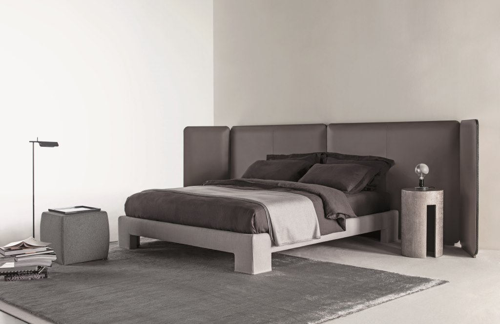 Кровать Meridiani Tuyo Kuoio + Base 15 Plain